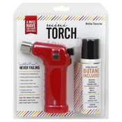 Bella Tavola Mini Torch, Red Combo Pack