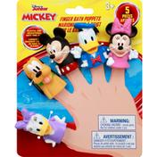 Disney Finger Bath Puppets, Mickey