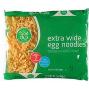 Food Club Enriched Egg Noodle Product, Extra Wide Egg Noodles