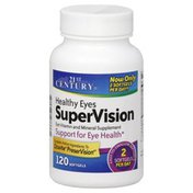 21st Century Foods Healthy Eyes SuperVision, Softgels