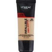 L'Oreal Pro Matte Blendable Foundation, Oil Free, Caramel Beige