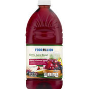 Food Lion 100% Juice Blend, Cherry Flavored Apple