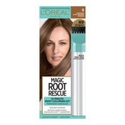 L'Oreal Root Rescue 10 Minute Root Hair Coloring Kit, 6 Light Brown