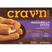 Crav'n Flavor Mozzarella Sticks