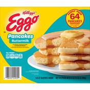 Eggo Pancakes, Buttermilk, Family Pack