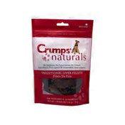 Crumps' Naturals Traditional Liver Fillets Beef Dry Dog Treats
