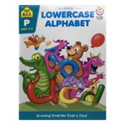 School Zone Lowercase Alphabet A Get Ready Book
