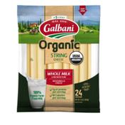 Galbani Galbani Organic Whole Milk Mozzarella String Cheese