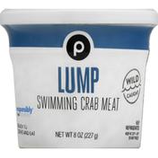 Publix Swimming Crab Meat, Lump