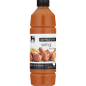Food Lion Sauce, Wing, Buffalo Style, Bottle