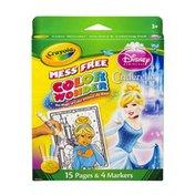 Crayola Disney Princess Cinderella Color Wonder Mess Free