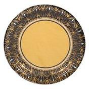 Amscan Plates, Glitz & Glam, 7 Inch