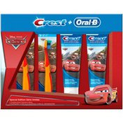Crest + Oral-B Disney Pixar Cars Toothbrush & Toothpaste Kit