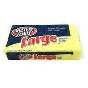 Western Family Large Cellulose Sponge