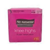 No nonsense Knee Highs Multipack Md Blk
