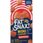 Fat Snax Cookies, Snickerdoodle, Mini