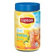 Lipton Black Iced Tea Mix Diet Lemon