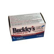 Buckley's Extra Strength Cough Cold & Flue Night Time Caplets