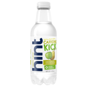 hint caffeinated water apple pear