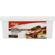 Delizza Eclairs, Belgian Double Chocolate, Mini