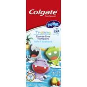 Colgate Toothpaste, Fluoride-Free, Training, Mild Fruit