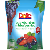 Dole Strawberries & Blueberries Frozen Fruit