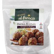 al fresco Meatballs, Gourmet, Chicken, Caramelized Onion