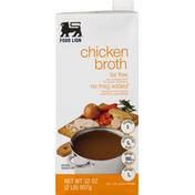Food Lion Chicken Broth, Fat Free