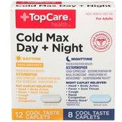 TopCare Cold Multi-Symptom Day & Night Cool Ice Caplets
