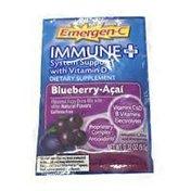 Emergen-C Immune Plus Blueberry Acai Fizzy Drink Mix