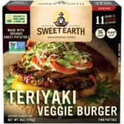 Sweet Earth Teriyaki Veggie Burger