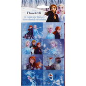 Unique Stickers, Lenticular, Disney Frozen II
