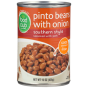 Food Club Southern Style Pinto Beans With Onion Seasoned With Pork