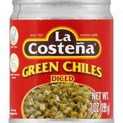 La Costeña Green Chiles, Diced