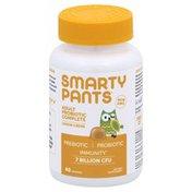 SmartyPants Probiotic, Complete, Adult, Gummies, Lemon Creme