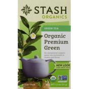 Stash Tea Green Tea Organic Premium Green