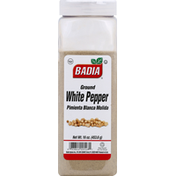 Badia Spices White Pepper, Ground