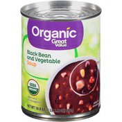Great Value Black Bean & Vegetable Soup