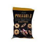 Dream Pretzels All Natural Pressels Pretzel Chips Everything