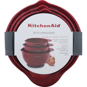 KitchenAid Mixing Bowls, Set of 3