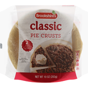 Brookshire's Pie Crusts, Classic, 9 Inches