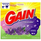 Gain with FreshLock Lavender Powder Detergent