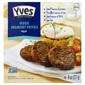 Yves Breakfast Patties, Veggie