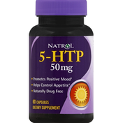 Natrol 5-HTP, 50 mg, Capsules