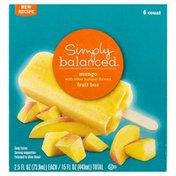 Simply Balanced Fruit Bar, Mango