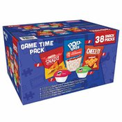 Kellogg's Game Time Pack, Lunch Snacks, Variety Pack