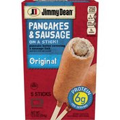 Jimmy Dean Pancakes & Sausage On A Stick! Original