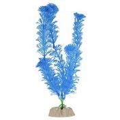 GloFish Plastic Plants Large Flourescent Blue