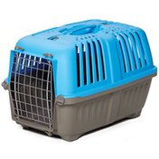 Mid-West Homes for Pets Spree Blue Hard-Sided Dog Travel Carrier