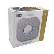 Nest Protect 2nd Generation Battery Operated Smoke & Carbon Monoxide Detector White Alarm